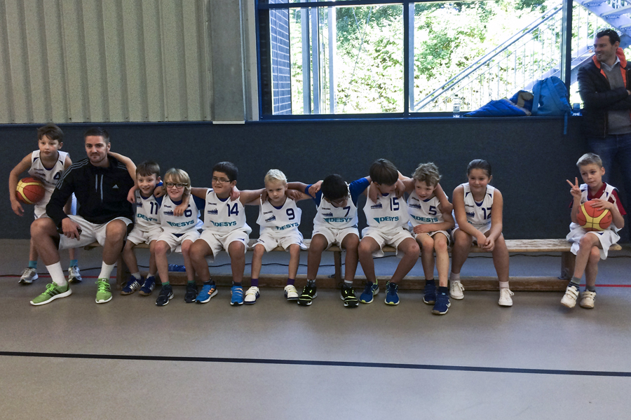 Die Junior Titans U10 mixed